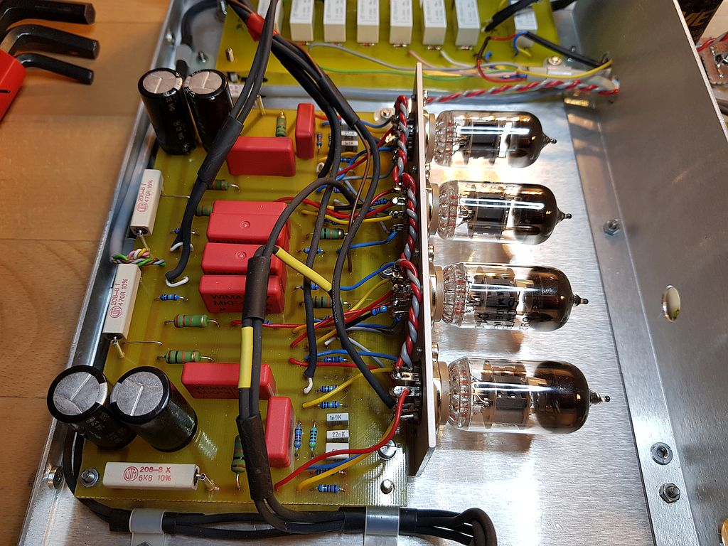 4 Stage preamp